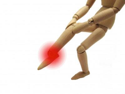 足底筋膜炎、踵の中に板が入ってる感じ