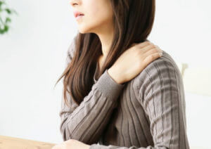足底筋膜炎と肩こり