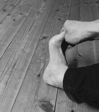 足底筋膜炎のストレッチ